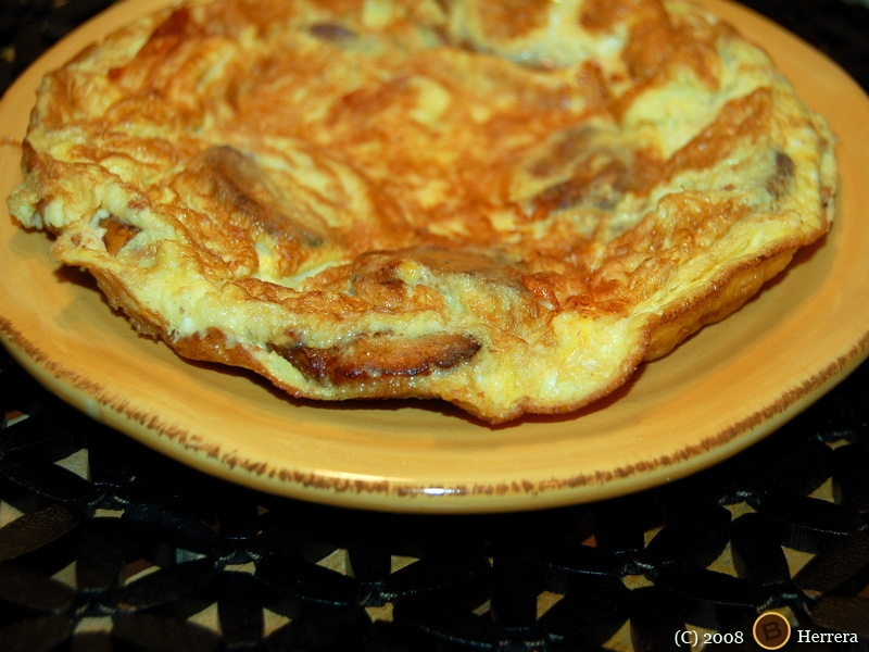 plantainomelette Spanish Style Plantain Omelette & Call for Cookbook Testers!