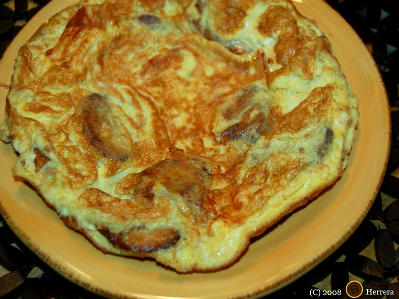 plantainomelette2 Spanish Style Plantain Omelette & Call for Cookbook Testers!