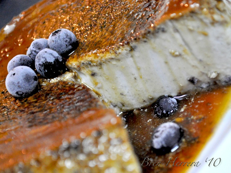 Blueberryflan2 #FlanFridays: Toughest One Yet! The Blueberry.