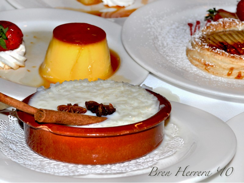 Dessertplate Celebrating Abuelos 90th Birthday at Casa Juancho, Miami