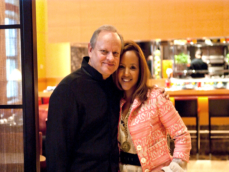 JRmeandhim1 Jol Robuchon & I Chat & Cook in His NY LAtelier!