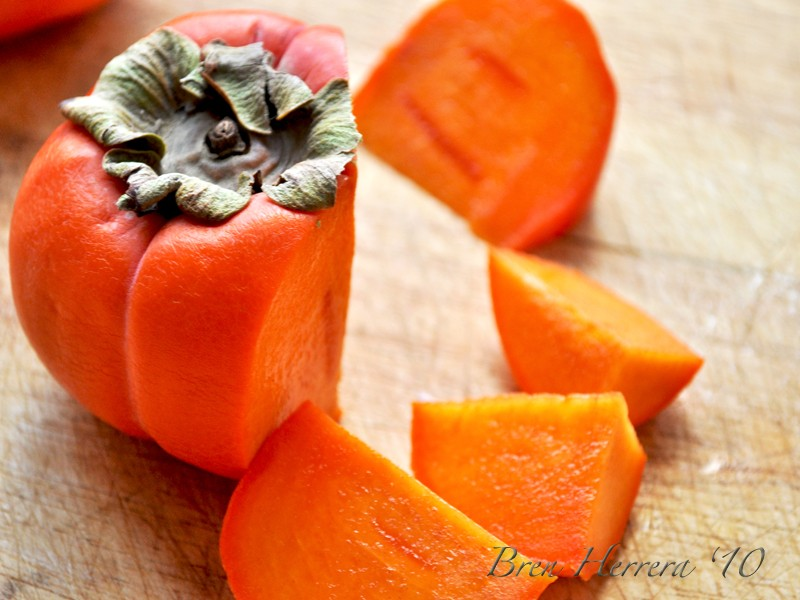 Persimmoncutup #FlanFridays: Persimmon Fruit