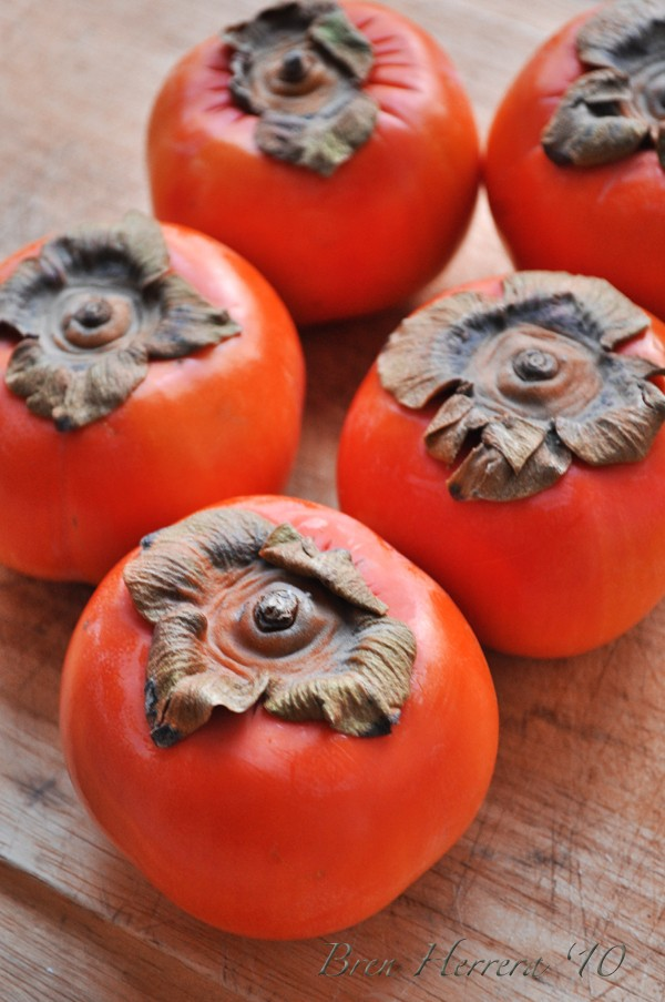 Persimmonwhole #FlanFridays: Persimmon Fruit