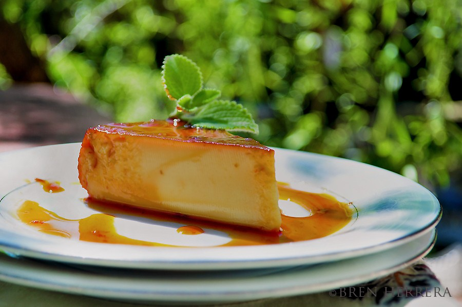 OreganoFlan #FlanFridays: Greek Inspired Oregano & Lemon Flan