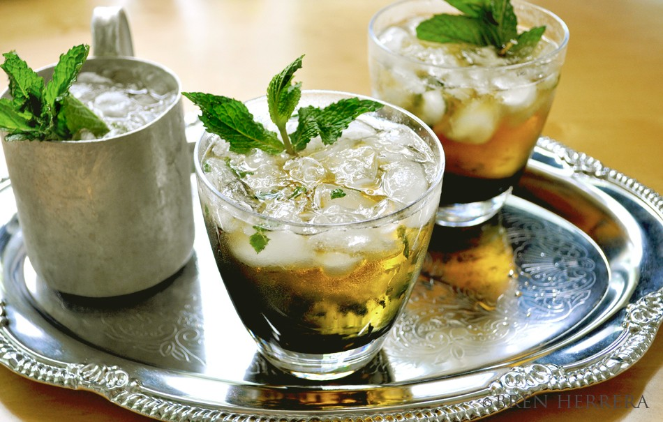 MintJulep1.1 Mint Julep Is the Only Drink for the Kentucky Derby. Plus, a Fabulous Hat!