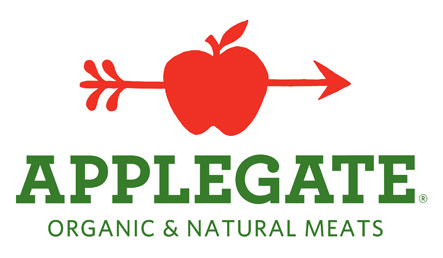 applegate logo AppleGate Hot Dogs. A Healthy, Super All Natural Link for Summer Grilling
