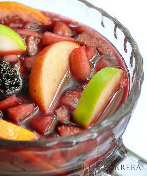 Sangria1tease2 Papis Sangria For Super Steamy Days