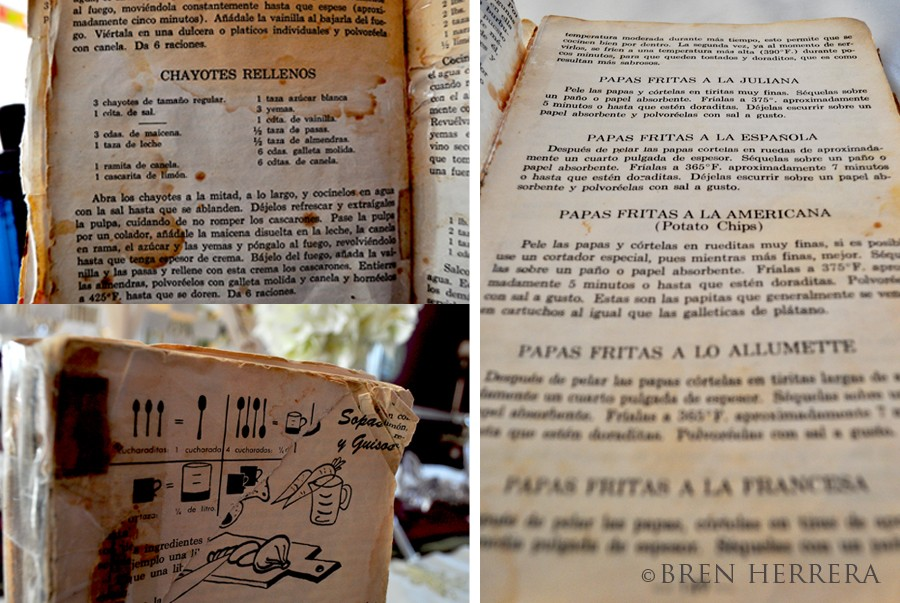 VintageCubanCookbookCollage Nitza Villapol, La Cocina Criolla & Arroz con Leche