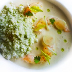 Apple Granita &amp; Shrimp