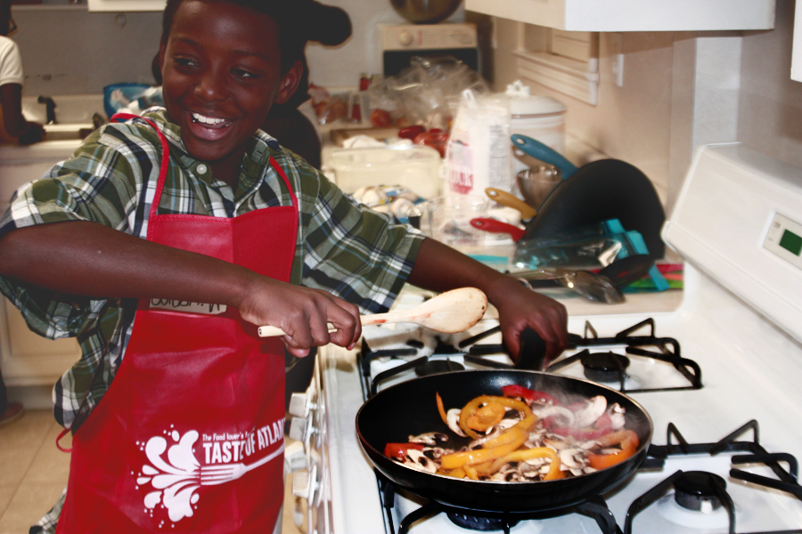 CMKidCooking Share Our Strengths No Kid Hungry & GAs Cooking Matters: Campaigns For Life